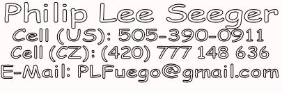 Contact Infor for Philip Lee Seeger